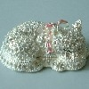 Swarovski Silver Cat Hinged Box
