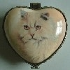 Heart Shaped Trinket Box D