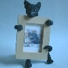 Black Cat Photo Frame