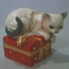 Enamel Cat Trinket Box