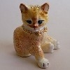 Enamel Kitten Trinket Box