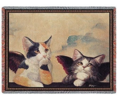 Angel Cat Blanket